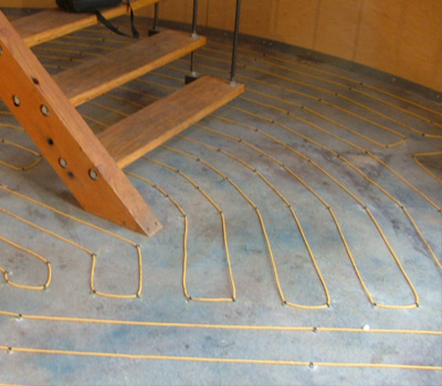 Tuff Cable as a floor/space heating